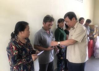 Châu Thành: Hỗ trợ các tiểu thương chợ Hoà Bình bị hỏa hoạn