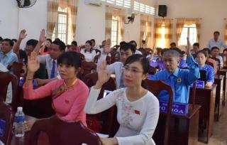 HĐND huyện Dương Minh Châu tổ chức kỳ họp bất thường