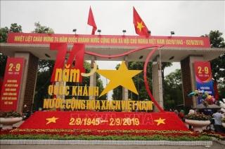 Muôn nơi rực cờ hoa chào mừng Lễ Độc lập 2-9