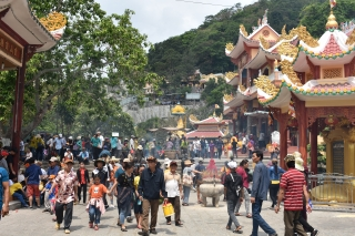 Lễ 2.9: Núi Bà Đen đón gần 29.000 lượt khách tham quan