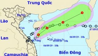 Áp thấp nhiệt đới Kajiki suy yếu