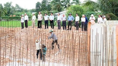 Cần phát huy hết giá trị của công trình tưới tiêu khu vực phía Tây sông Vàm Cỏ Đông