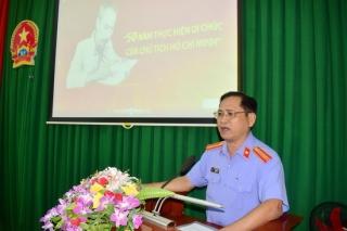 Sinh hoạt chuyên đề 50 năm thực hiện Di chúc của Chủ tịch Hồ Chí Minh