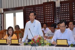 Bộ trưởng Bộ Văn hóa, Thể thao và Du lịch làm việc tại Tây Ninh