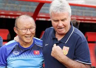 HLV Park: 'Thú vị khi đối đầu Guus Hiddink'