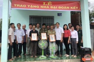 Châu Thành: Bàn giao 6 căn nhà đại đoàn kết cho người nghèo