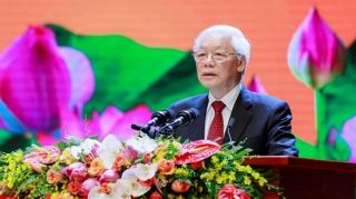 Tổng bí thư, Chủ tịch nước Nguyễn Phú Trọng gửi thư mừng tết Trung thu
