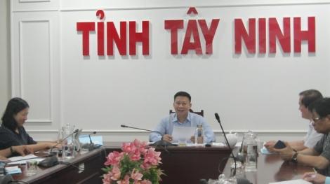 """UBND tỉnh: Họp sự kiện """"Ngày Tây Ninh tại Hà Nội"""" lần thứ II, năm 2019"""