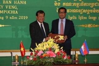 Tây Ninh- Prey Veng: Sơ kết 1 năm thực hiện thoả thuận hợp tác