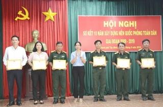 TP.Tây Ninh: Sơ kết 10 năm xây dựng nền quốc phòng toàn dân