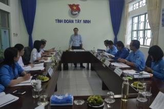 Hội nghị liên tịch công tác tổ chức Đại hội đại biểu Hội LHTNVN tỉnh Tây Ninh