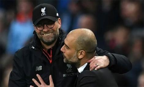 Guardiola: 'Chúc mừng nhà vô địch Liverpool'
