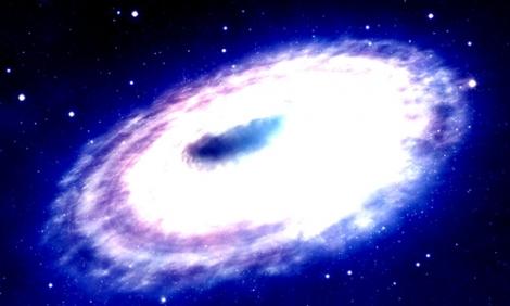 Siêu hố đen gần Trái Đất nhất phát sáng mạnh