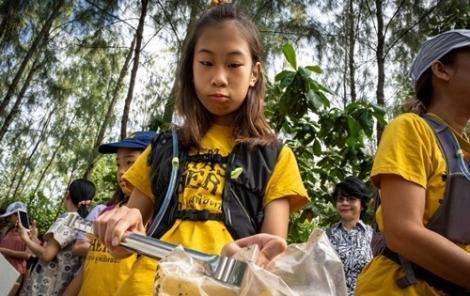 Cuộc chiến chống rác thải của cô bé 12 tuổi