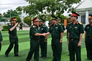 Đoàn công tác Bộ Quốc phòng làm việc tại Tây Ninh