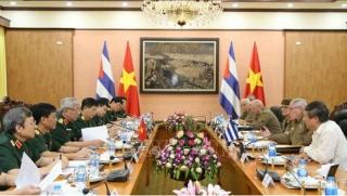 Hợp tác quốc phòng Việt Nam - Cu Ba phát triển sâu rộng