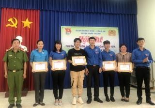 Châu Thành: Thi Tuyên truyền phòng chống ma túy, mại dâm