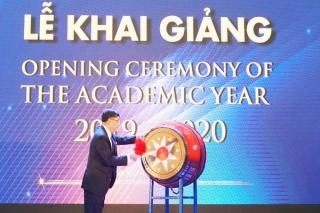Trường ĐH Bà Rịa - Vũng Tàu khai giảng năm học mới