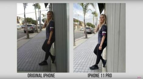 iPhone 11 Pro Max đọ camera với iPhone đời đầu