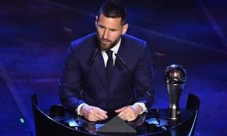 Messi giành giải The Best 2019