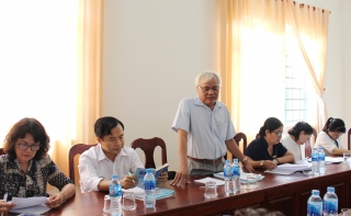 HĐND tỉnh: Giám sát việc thực hiện Luật Ban hành văn bản quy phạm pháp luật tại huyện Bến Cầu