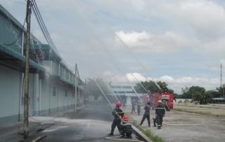 Thực tập phương án chữa cháy và cứu nạn cứu hộ tại Công ty TNHH Bimico
