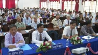 Tân Biên: Hội nghị 50 năm thực hiện Di chúc của Chủ tịch Hồ Chí Minh