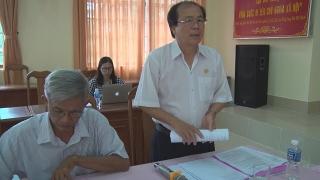 Kiểm tra tiến độ xây dựng NTM tại huyện Tân Biên