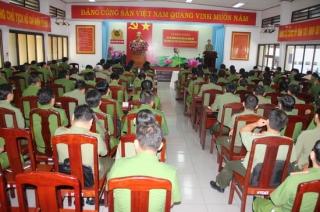 Khai giảng lớp bồi dưỡng nghiệp vụ CA chính quy, đảm nhiệm các chức danh CA xã
