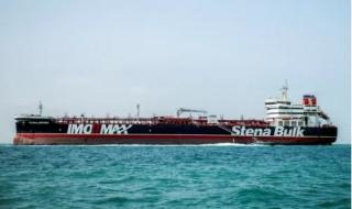 Tàu dầu Anh rời cảng Iran