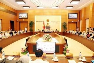 UBTVQH xem xét phê chuẩn nhân sự; thành lập một số đơn vị hành chính mới