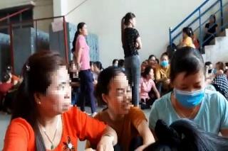 Trảng Bàng: Hàng trăm công nhân đình công vì cho rằng suất ăn không đảm bảo vệ sinh