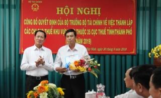 Tây Ninh: Thành lập Chi cục Thuế khu vực Hòa Thành – Dương Minh Châu