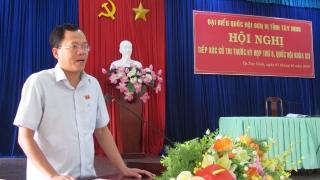 ĐBQH tiếp xúc cử tri TP.Tây Ninh