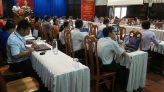 Tập huấn hướng dẫn xác định chỉ số CCHC trên phần mềm điện tử