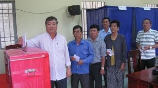 Tân Biên: Bầu cử trưởng ấp, khu phố nhiệm kỳ 2019-2024