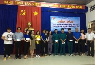 TP.Tây Ninh: Tuyên truyền pháp luật cho đoàn viên, thanh niên