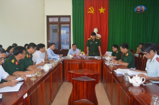 Bộ CHQS: Kiểm tra công tác quốc phòng địa phương