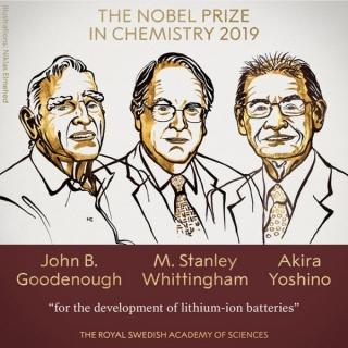 Phát minh Pin Lithium-ion giành Giải Nobel Hóa học 2019