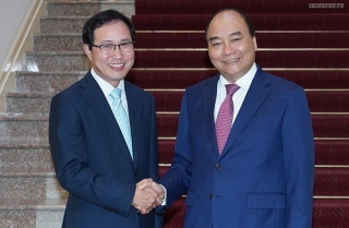 Thủ tướng tiếp Tổng Giám đốc Tổ hợp Samsung Việt Nam