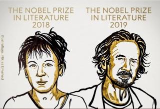 Nobel Văn học 2018, 2019 gọi tên 2 nhà văn châu Âu