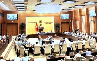 Khai mạc Phiên họp thứ 38 của Ủy ban Thường vụ Quốc hội