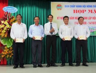 Họp mặt kỷ niệm 89 năm thành lập Hội Nông dân Việt Nam