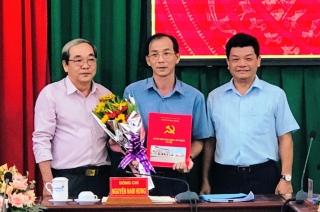 Ông Ngô Minh Khải làm Trưởng Ban Tổ chức Huyện uỷ Hoà Thành