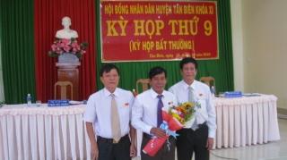 Tân Biên: Bầu bổ sung Chủ tịch HĐND huyện