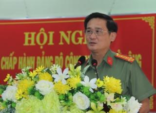 CATN: Hội nghị Ban chấp hành Đảng bộ Công an tỉnh mở rộng