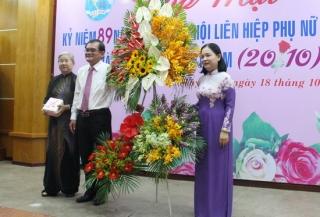 Họp mặt kỷ niệm ngày thành lập Hội LHPN Việt Nam và ngày Phụ nữ Việt Nam 20.10