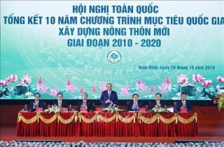 Thủ tướng Nguyễn Xuân Phúc: Xây dựng nông thôn mới tạo ra bước đột phá lịch sử