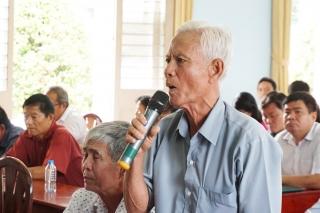 Người dân An Phú: Mong muốn nâng cấp con đường vào Nhà văn hóa và Văn phòng Ban quản lý ấp