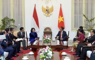 Phó Chủ tịch nước hội kiến Tổng thống và Phó Tổng thống Indonesia